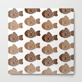 More taiyaki please! Metal Print