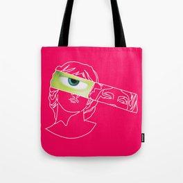 Too Faced Mike Wazowski Tote Bag