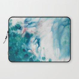 Waves of turquoise Laptop Sleeve