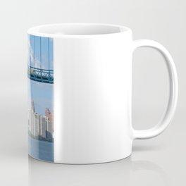 Bridging the Detroit River Coffee Mug