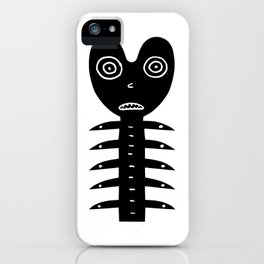 Monster Oh No iPhone Case