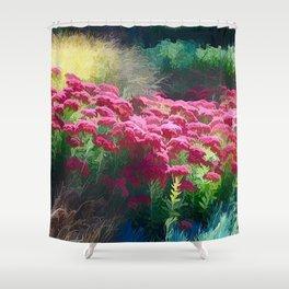 Vibrant Floral Dream Shower Curtain