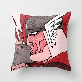 Godguy Throw Pillow