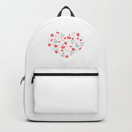 Valentine's Day Heart #5 - Cupcakes and Strawberries Backpack