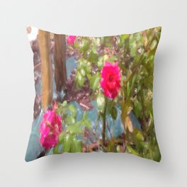 Delizia di rosa Throw Pillow