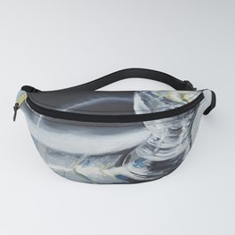 Glass of the water in the light Fanny Pack