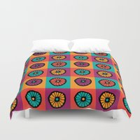 plant Duvet Covers featuring Plant 2 by Shelly Bremmer