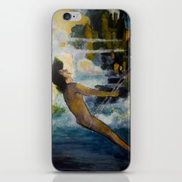 Ode to Maxfield Parrish iPhone Skin