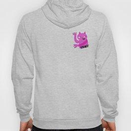 Pink Rawr Cat Hoody