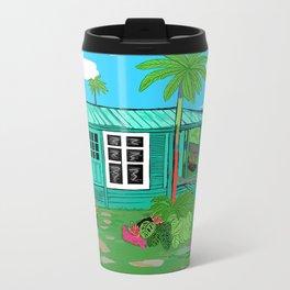 BeachHut Travel Mug
