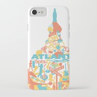 atlanta iPhone & iPod Cases featuring Atlanta, GA by ahutchabove