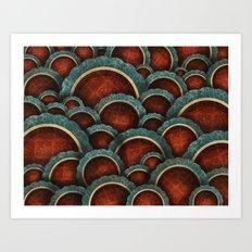 Illustrious Circles Art Print