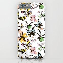 Ghosts of butterflies iPhone Case