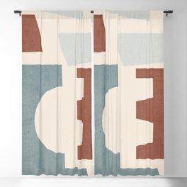Minimal Abstract Art 64 Blackout Curtain