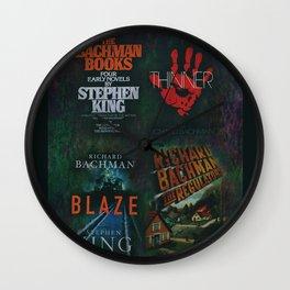 Richard Bachman - Stephen King books Wall Clock