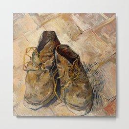 Vincent van Gogh - Shoes Metal Print