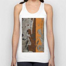 Abstract textured art work Unisex Tank Top