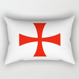 Knights Templar cross Rectangular Pillow