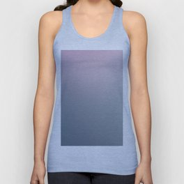 WATER WALL - Minimal Plain Soft Mood Color Blend Prints Unisex Tank Top