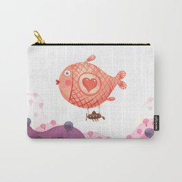 Flying_fish Carry-All Pouch