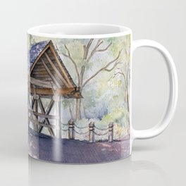 Naperville Covered Bridge in Spring Coffee Mug