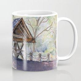 Naperville Covered Bridge in Spring Coffee Mug