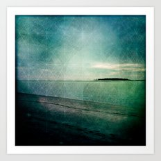 Lingering By the Sea 2 Art Print