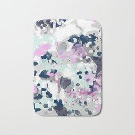 Elsie - modern abstract painting trendy home dorm college decor canvas art Bath Mat