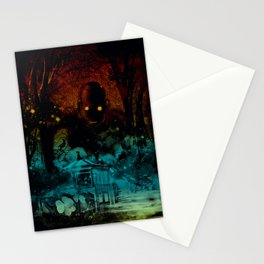 the last story Stationery Cards