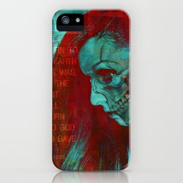 THE GOD WHO GAVE IT (Ecclesiastes 12:7) iPhone Case