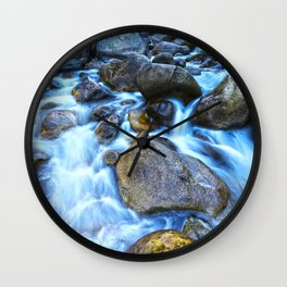 Merced River Wall Clock