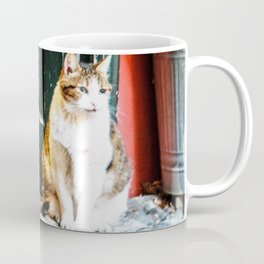le chat chez l'artiste Coffee Mug