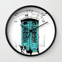 Shameless Dog Wall Clock