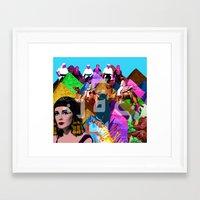 arab Framed Art Prints featuring Arab world by Bothayna Al Zaman
