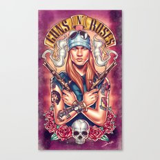 Welcome To The GnR Canvas Print