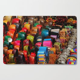 Colors of the Caribbean Cutting Board