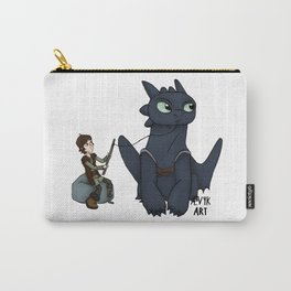 Hungry Toothless Carry-All Pouch