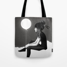 No Such Thing As Nothing (By Night) Tote Bag