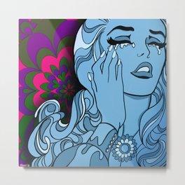 Psychedelic Euphoria Metal Print