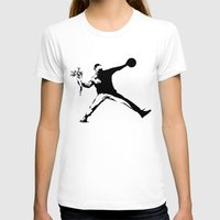 banksy T-shirts featuring #TheJumpmanSeries, Banksy by @thepeteyrich