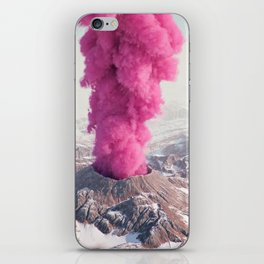 Pink Eruption iPhone Skin