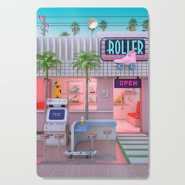 Roller Skate Nostalgia Cutting Board