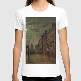 Park Row, Leeds, England by John Atkinson Grimshaw T-shirt