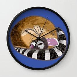 Arizoona Ringtail Wall Clock