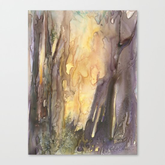 Forest FIRE! Canvas Print