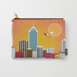 Perth, Australia - Skyline Illustration by Loose Petals Carry-All Pouch