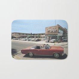 Eden Roc Motel, 1960's Pontiac, Wildwood, NJ Bath Mat