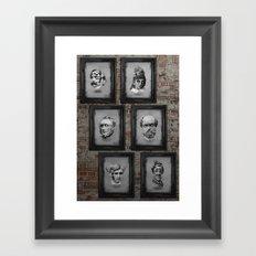 Floating Freaks Framed Art Print