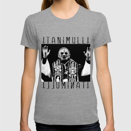 You Taste Like Death Pope T-shirt