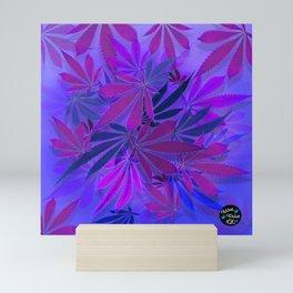 Purple Swirl Mini Art Print